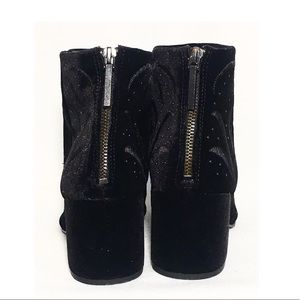 Dolce Vita Shoes - Dolce Vita Ibis Embroidered Velvet Bootie